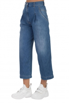 JEANS STRAIGHT CROPPED