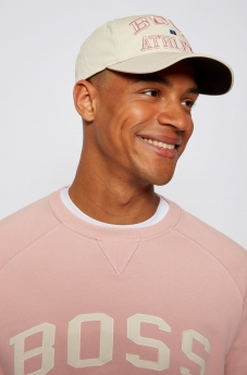 Boss Russel Athletic Cappello con logo esclusivo