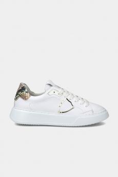 Sneakers Temple Veau Python