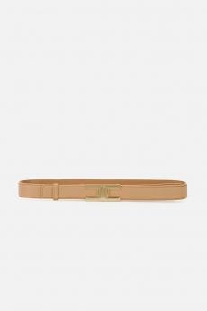 Cintura con logo gold