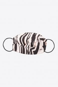 Pinko Mascherina stampa Zebra