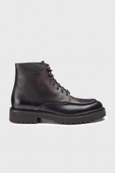 Derby Boot Bordato