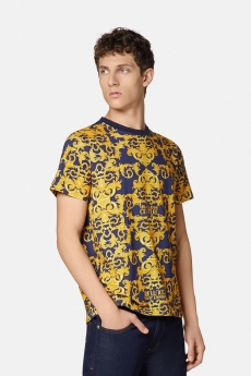 Versace Jeans Couture T-shirt stampa Baroque