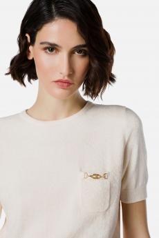 T-shirt in ciniglia