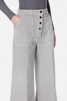 Pantalone in denim ampio